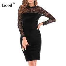 Load image into Gallery viewer, Nesa Fashion Sexy Dress Women New  Casual Womens Clothing Red Green Black Midi Bodycon Party Dresses