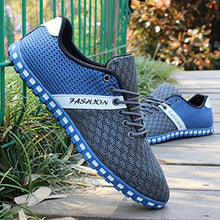 Load image into Gallery viewer, Nesa Fashion Men Casual Shoes Spring Air Mesh Fabric Cloth Patchwork Mens Loafers Leisure Canvas Shoe For Men Cool Walk Shoes Big Size