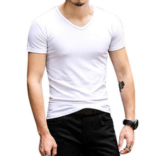 Load image into Gallery viewer, Nesa Fashion Men T Shirts Summer Sports Running Top Tees Mens Clothing Short Sleeve Casual O Neck cotton Fitness Tshirt Sportswear