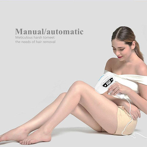 Permanent Laser Hair Removal Epilator Women Photo Threading Pulsed Light Machine Device Female Face Depilatory Body Depilation