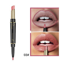 Load image into Gallery viewer, Pudaier Matte Lipstick Double Ended Long Lasting Matte Lipsticks Makeup Lipstick Set Cosmetics Nude Dark Red Lips Liner Pencil