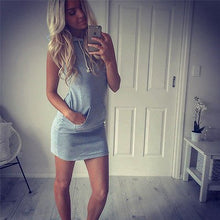 Load image into Gallery viewer, Nesa Fashion Sexy Women Sleeveless Party Summer Beach Short Mini Dress