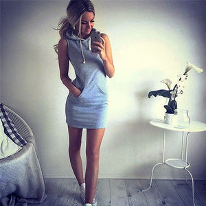 Nesa Fashion Sexy Women Sleeveless Party Summer Beach Short Mini Dress