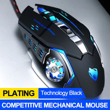 Load image into Gallery viewer, Professional Wired Gaming Mouse 6 Button 3200DPI LED Optical USB Computer Mouse Gamer Mice Game Mouse Silent Mause For PC laptop