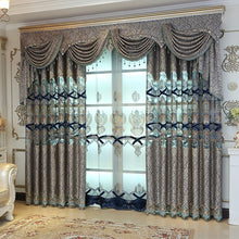 Load image into Gallery viewer, Nesa Fashion New High Quality Embroidered Luxury Curtains Window For living Room Bedroom Kitchen Tulle Curtains Valance Drapes