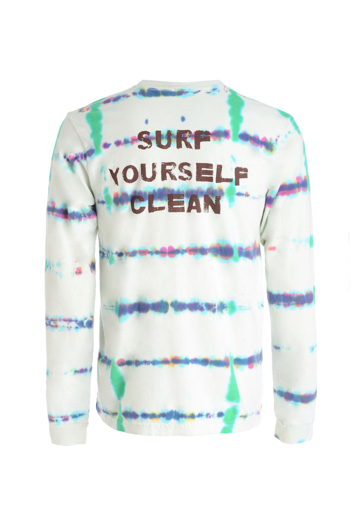 mens surf yourself clean tee