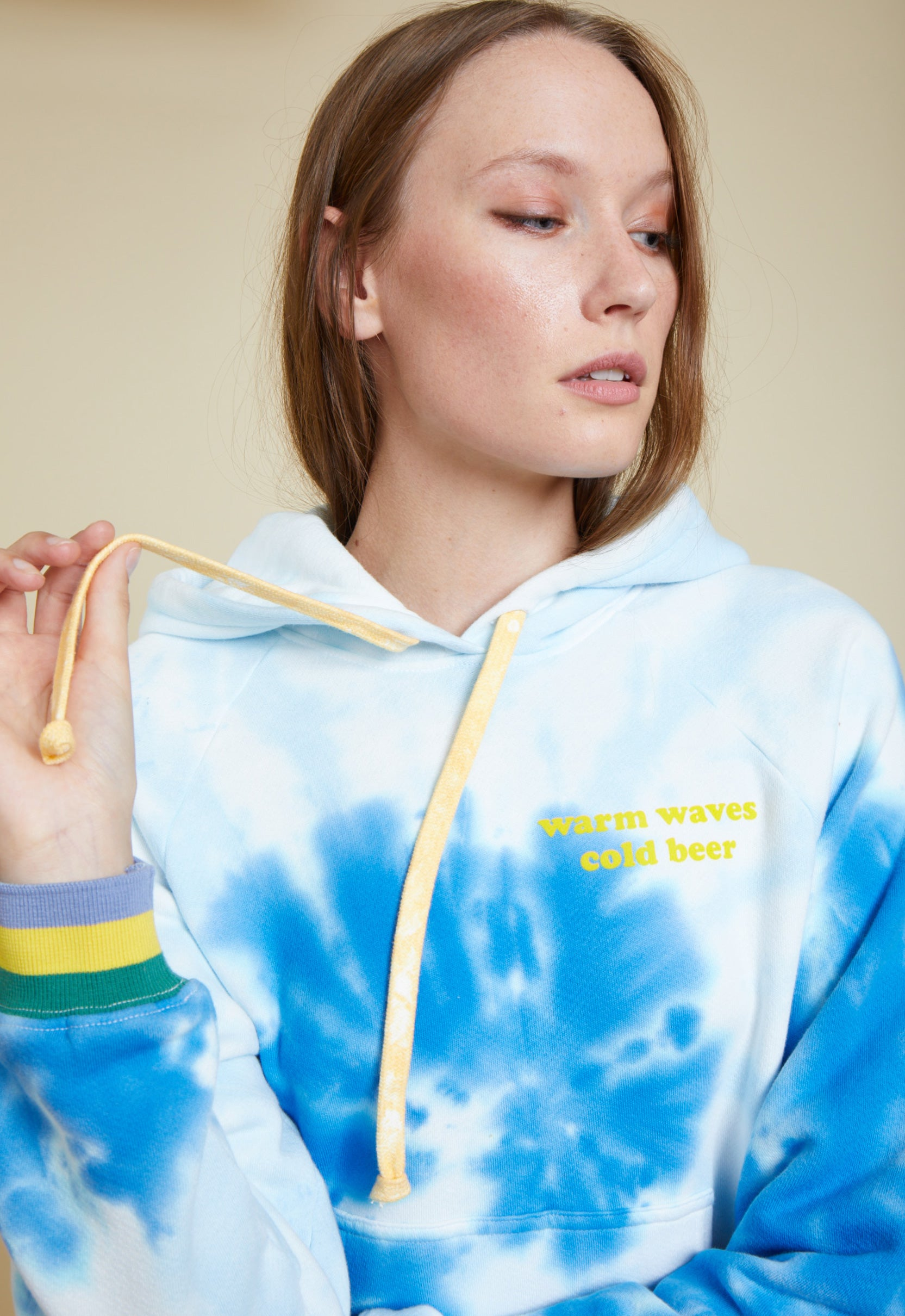 "Warm Waves ""boyfriend"" sweatshirt"
