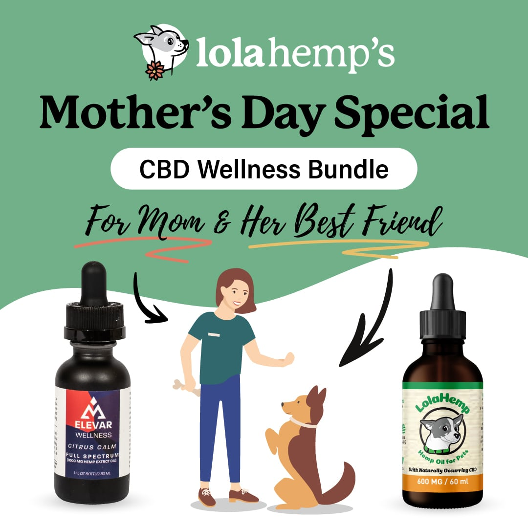 Mother's Day CBD Wellness Bundle (for human & dog)