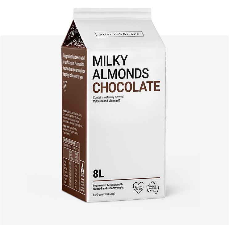Chocolate almond milk
