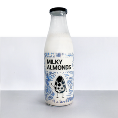1L Glass Milk Bottle
