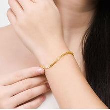 Pure Gold 18k Bracelet - Gem & Etc