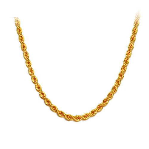 Necklace Pure Gold 18K - Gem & Etc