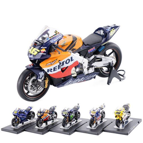 The perfect replica of motorcycles that were world  champions on 1/18 scale - Gem & Etc