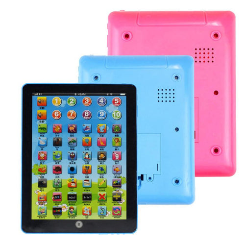 Modern Child Kids Computer Tablet Chinese English Learning Study Machine Toy Learning Machine Educational Toys