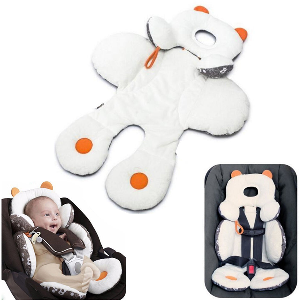 1pcs Sozzy Baby Stroller Mat Cotton Child Infant Cushion for Strollers Kids Toddlers Head Body Support Car Seat