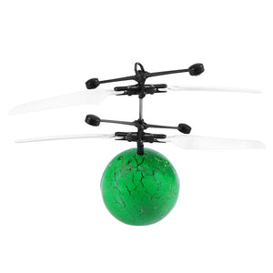 Flying Ball RC Infrared Induction Helicopter Ball Built-in Shinning Color Changing LED Lighting for Kids Children