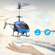 Load image into Gallery viewer, Flying Mini RC Infraed Induction Helicopter Aircraft Flashing Light Toys For Kid