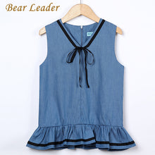 Load image into Gallery viewer, Bear Leader Girl Dress Princess Costume 2018 New Brand Silk Chiffon Kids Clothes Girls Dresses Leopard Print Children Dress