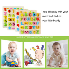 Load image into Gallery viewer, Environmental Friendly Wooden Children Baby Kids Learning Educational Toys Puzzle Early Education Letter Learning Toys