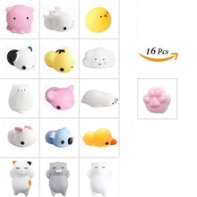 Load image into Gallery viewer, Soft Animal Squishies, Stress Relief Squishy, Animal Toys, Squeeze Toys