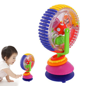 Wonder Sky Wheel Toys Ferris Wheel Model Toys Baby Stroller Toys Baby Early Education Toys Multi-touch Senses Inspiring Toys