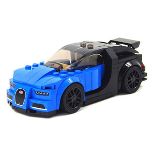 DIY Building Block Toys Disassembly for Bugatti Racing Car Assembled Model Puzzle Plastic Educational Toys For Children