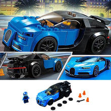 Load image into Gallery viewer, DIY Building Block Toys Disassembly for Bugatti Racing Car Assembled Model Puzzle Plastic Educational Toys For Children