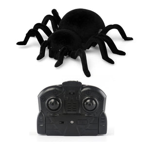 Wall Climbing Spider Remote Control Infrared RC Tarantula Kid Gift Toy Simulation Furry Electronic Spider Halloween Surprise