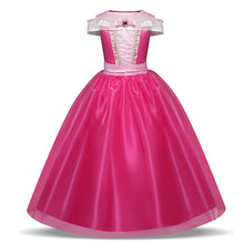 Load image into Gallery viewer, Baby Girl Princess Dress Up Children Kids Tulle Carnival Disguise Costume Teenager Girls Clothes Party Wear Fantasy Ball Dress