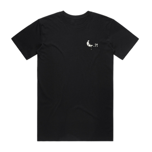 Moon   Men's 100% Cotton Embroidered T-shirt in Black / XXL by Ikeya Tomohide