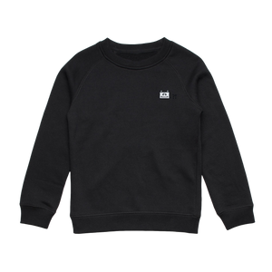 Miiya   Kid's Minimal Fleece Sweatshirt in Black / XXL by Enpei Ito