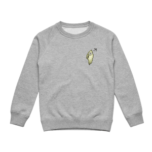 Hooya   Kid's Minimal Fleece Sweatshirt in Grey / XXL by Enpei Ito