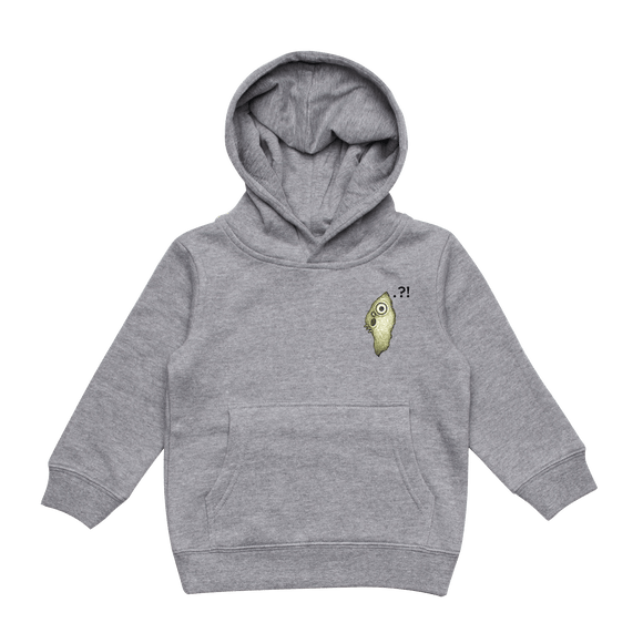 Hooya   Kid's Minimal Fleece Hoodie in Grey / XXL by Enpei Ito