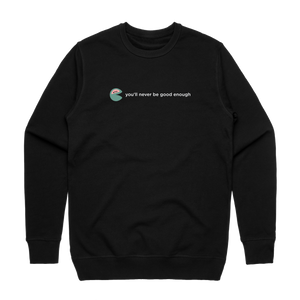The Unfortunate Cookie 01   Men's 100% Cotton Sweatshirt in Black / XXL by Raymond Tan
