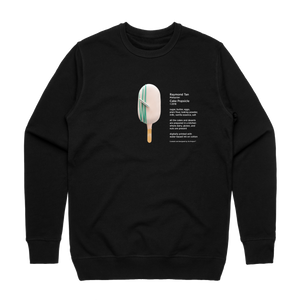 Cake Popsicle 06   Men's 100% Cotton Gallery Sweatshirt in Black / XXL by Raymond Tan