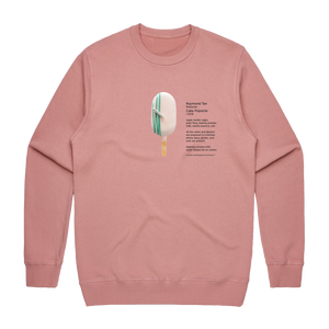 Cake Popsicle 06   Men's 100% Cotton Gallery Sweatshirt in Rose / XXL by Raymond Tan