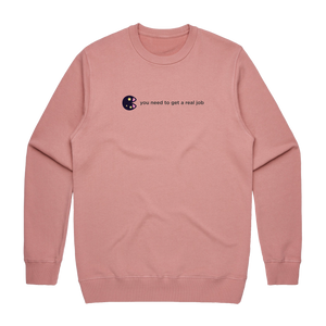 The Unfortunate Cookie 04   Men's 100% Cotton Sweatshirt in Rose / XXL by Raymond Tan