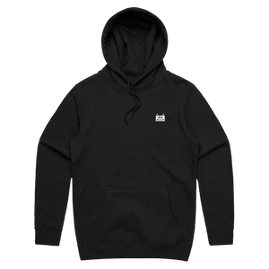 Miiya   Unisex Minimal Fleece Hoodie in Black / XS by Enpei Ito