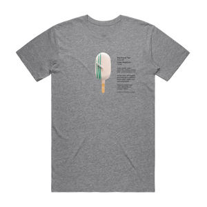 Cake Popsicle 06   Men's 100% Organic Cotton Gallery T-shirt in Grey / XXL by Raymond Tan