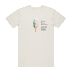 Cake Popsicle 06   Men's 100% Organic Cotton Gallery T-shirt in Natural / XXL by Raymond Tan