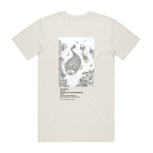 Moving Of Mirumiruboya   Men's 100% Organic Cotton Gallery T-shirt in Natural / XXL by Enpei Ito