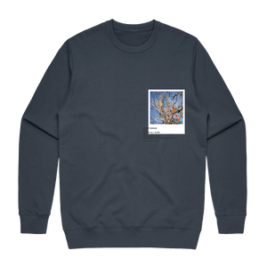 Hands All Over 02   Men's 100% Cotton Gallery Sweatshirt in Air Force Blue / XXL by Serap Osman