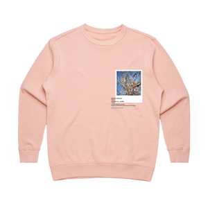 Hands All Over 02   Women's 100% Cotton Gallery Sweatshirt in Pale Pink / XL by Serap Osman