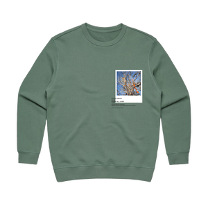 Hands All Over 02   Women's 100% Cotton Gallery Sweatshirt in Sage / XL by Serap Osman