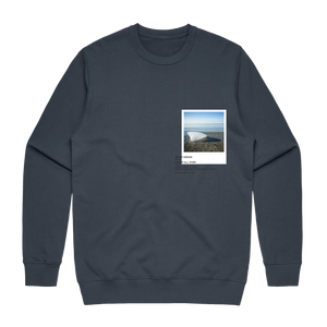 Hands All Over 05   Men's 100% Cotton Gallery Sweatshirt in Air Force Blue / XXL by Serap Osman