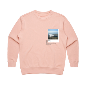 Hands All Over 05   Women's 100% Cotton Gallery Sweatshirt in Pale Pink / XL by Serap Osman