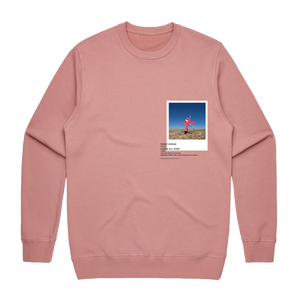 Hands All Over 07   Men's 100% Cotton Gallery Sweatshirt in Rose / XXL by Serap Osman