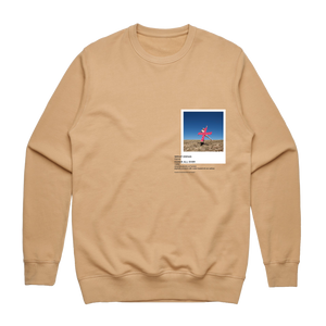 Hands All Over 07   Men's 100% Cotton Gallery Sweatshirt in Tan / XXL by Serap Osman