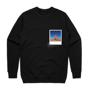 Hands All Over 07   Men's 100% Cotton Gallery Sweatshirt in Black / XXL by Serap Osman