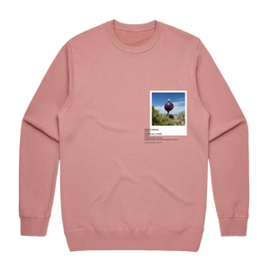 Hands All Over 08   Men's 100% Cotton Gallery Sweatshirt in Rose / XXL by Serap Osman
